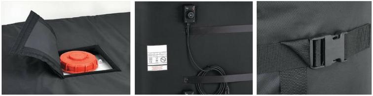 HF6IBC-3 IBC Heating Jacket - 3000W