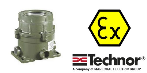 Ex d Enclosures - Explosion Proof Hazardous Area Technor CPS/EMH Aluminium Enclosure