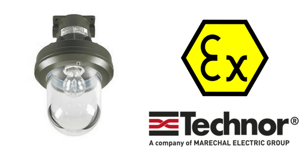 Ex d Lighting - Explosion Proof Hazardous Area Technor EV Wellglass Lighting