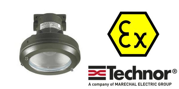 Ex d Lighting - Explosion Proof Hazardous Area Technor LED EVCC-PR Wellglass Lighting