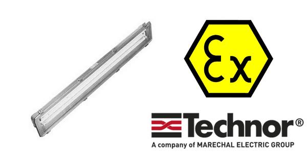 Ex de Lighting - Explosion Proof Hazardous Area Technor RMS 560 Fluorescent Lighting