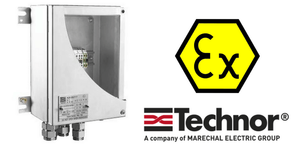 Ex e Junction Boxes - Increased Safety Hazardous Area Technor SB Stainless Steel Junction Boxes