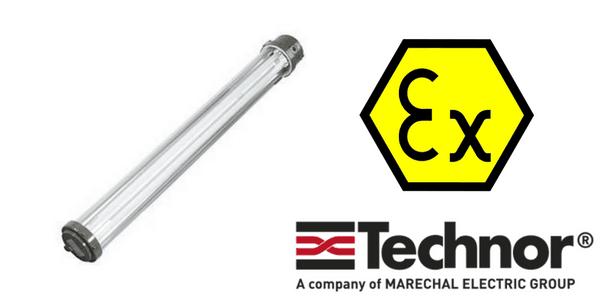 Ex eb Lighting - Increased Safety Hazardous Area Technor LED EVF-P Lighting