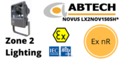 Hazardous Area Floodlight Ex nR Zone 2 ATEX | Abtech LX2NOV150SH*
