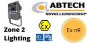 Hazardous Area Floodlight Ex nR Zone 2 ATEX | Abtech LX2NOV250SH*