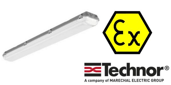 Hazardous Area Technor G2X Fluo Fluorescent Lighting