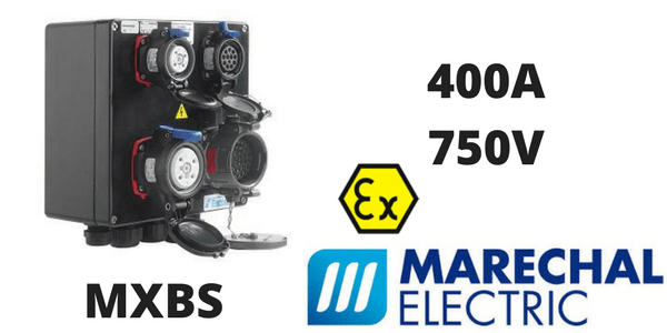 Marechal MXBS Hazardous Area ATEX Socket Outlet Combination Box