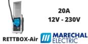 Marechal RETTBOX-Air Plugs 20A 12V-230V Decontactor