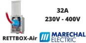 Marechal RETTBOX-Air Plugs 32A 230V-400V Decontactor