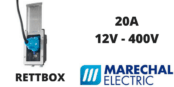 Marechal RETTBOX Plugs 20A 12V-400V Decontactor