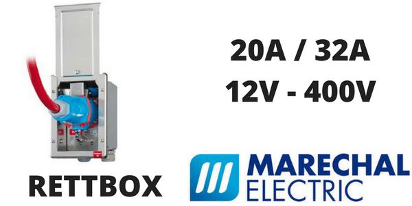 Marechal RETTBOX Plugs 20A & 32A Decontactors