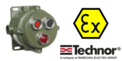 Push Button Control Station (Aluminium) Hazardous Area Zone 2 ATEX – Technor CP/EFDCN