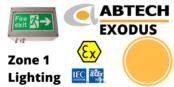 Zone 1 LED Bulkhead Hazardous Area ATEX IECEx – Abtech Exodus