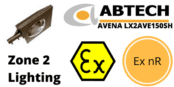 Hazardous Area Street Light Ex nR Zone 2 ATEX | Abtech LX2AVE100SH