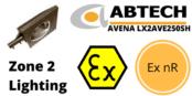 Hazardous Area Street Light Ex nR Zone 2 ATEX | Abtech LX2AVE150SH