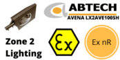 Hazardous Area Street Light Ex nR Zone 2 ATEX | Abtech LX2AVE250SH