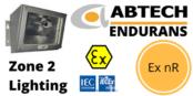 Zone 2 Bulkhead Luminaire ATEX IECEx Ex nR Hazardous Area – Abtech Endurans