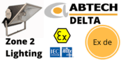 Zone 2 Floodlight ATEX IECEx Hazardous Area Ex nR – Abtech Delta