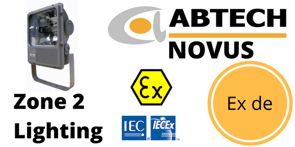 Zone 2 Floodlight ATEX IECEx Hazardous Area Ex nR – Abtech Novus