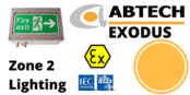 Zone 2 LED Bulkhead ATEX IECEx Hazardous Area – Abtech Exodus