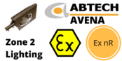 Zone 2 Street Light ATEX IECEx Ex nR Hazardous Area – Abtech Avena