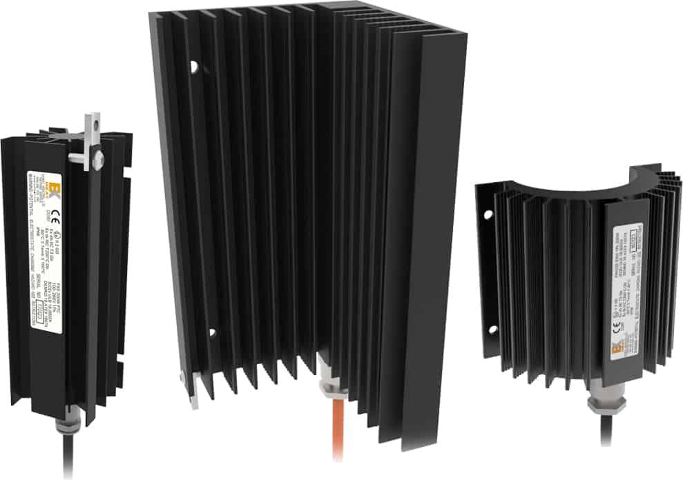 EXHEAT FXS Hazardous Area Compact Enclosure Heaters - ATEX Certified Zone 1 & Zone 2