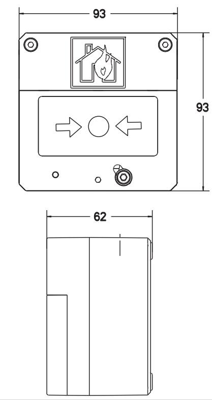 Eaton MEDC BG3 - Dimensions