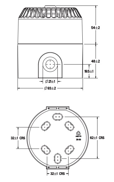 Eaton MEDC DB5 - Dimensions