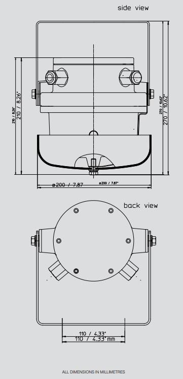 Eaton MEDC dGW 20 - Dimensions