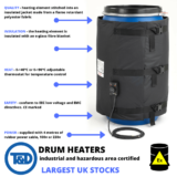 Prevention of Crystallisation – Drum & IBC Heating Solutions For