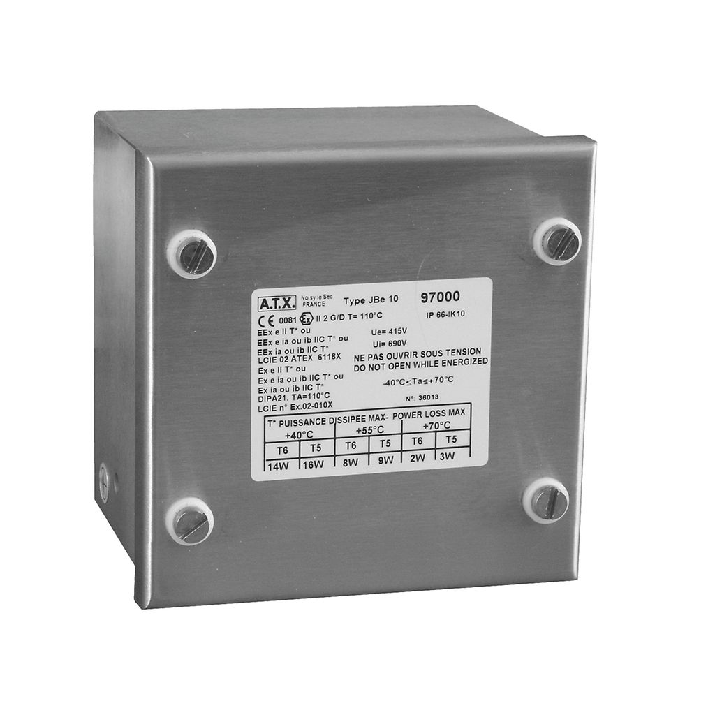 Junction Boxes Zone 1 Zone 2 Hazardous Area Junction Boxes ATEX