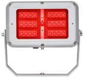 ATEX Floodlights | Zone 1 Floodlight Hazardous Area 620nm 10,000 68W