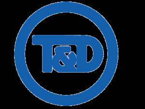 T&D Round Blank Background