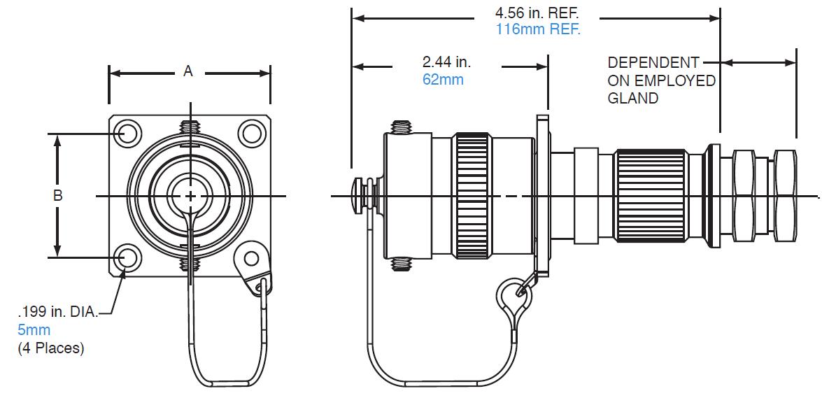 Amphenol A01 Hazardous Area Connectors