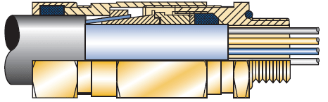 Amphenol EX-20 gland