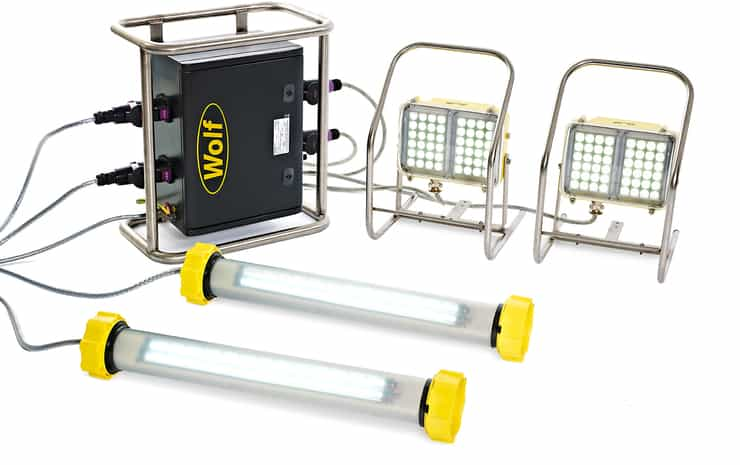 Wolf LinkEx Confined Spaces Lighting Kit ATEX - Hazardous Area Zone 1 & Zone 2