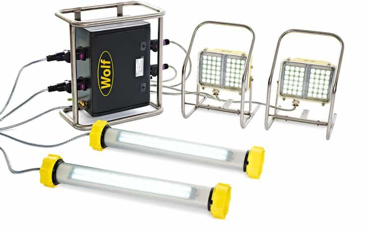 Wolf LinkEx Tank Lighting Kit ATEX - Hazardous Area Zone 1 & Zone 2