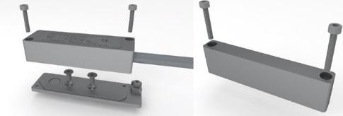 ATEX Magnetic Door Contacts - Mounting Arrangement