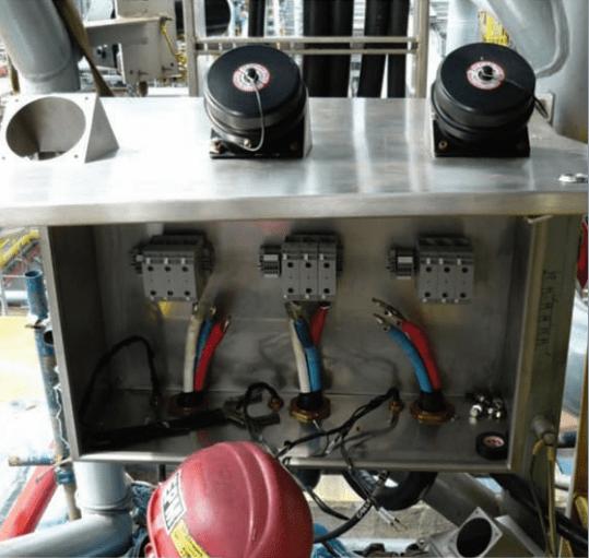 Amphenol Industrial Star Line EX Junction Box