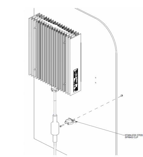 FXT-M Thermostat Mounting Arrangement
