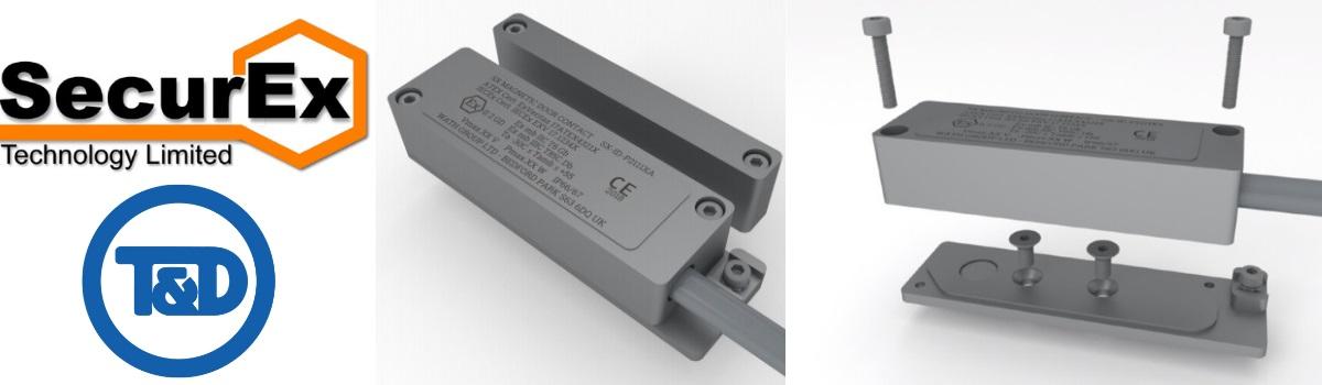 SecurEx ATEX Magnetic Door Contacts for Access Control & Security Door Locking