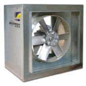 Fans | ATEX Certified Explosive Atmosphere Fans | 400ºC/2h and 300ºC/2h Axial Extraction Units