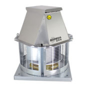 Fans | ATEX Ex d Certified Explosive Atmosphere Fans | Roof Mounted Centrifugal Extractor Type With Horizontal Outlets