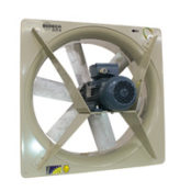 Fans | ATEX Ex d Ex tc or Ex tb Certified Explosive Atmosphere Fans | Wall-Mounted Axial Extractor Type
