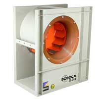 Fans | ATEX Ex d Ex e Certified Explosive Atmosphere Fans | Single-Inlet Centrifugal Extractor Type