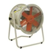 Fans | ATEX Ex d Ex tc or Ex tb Certified Explosive Atmosphere Fans | Tubular Mobile Axial Extractor Type