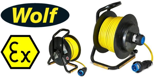 Wolf ATEX Cable Reel Zone 1 & Zone 2 Approved
