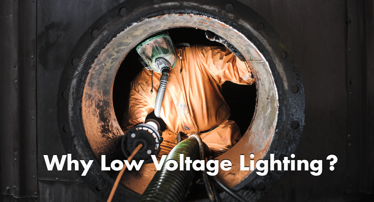 Low Voltage Lighting In Confined Spaces
