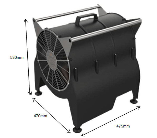 MFH 'The Bulldog' Offshore Portable Fan Heaters