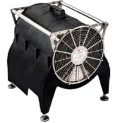 """ATEX Fan Heaters – Offshore Portable Fan Heater – EXHEAT MFH """"The Bulldog"""""""